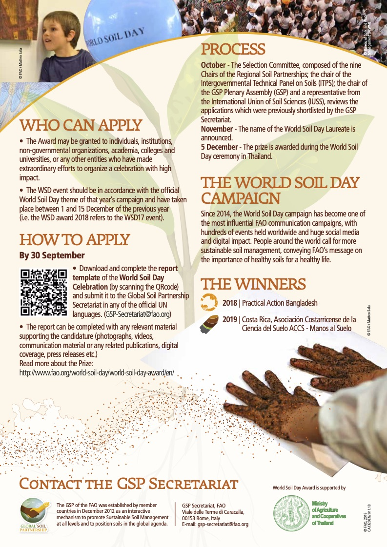 World Soil Day Award